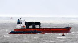 Major Incident Declared As 200m Cargo Ship Collides With Barge Off Dover