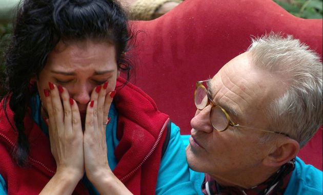 Larry Lamb was there to comfort