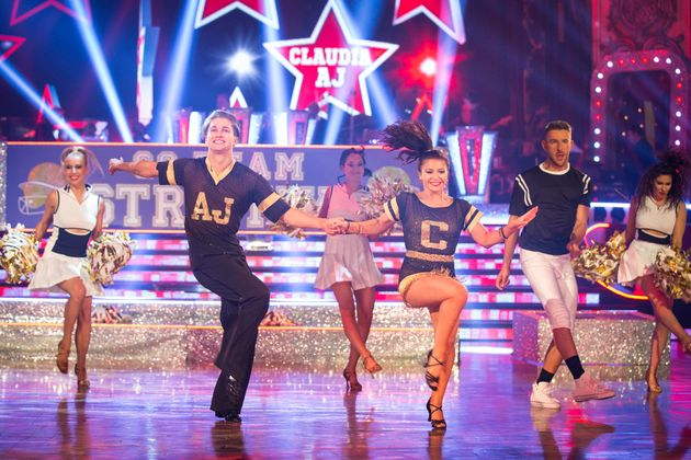 Claudia Fragapane was in the dance