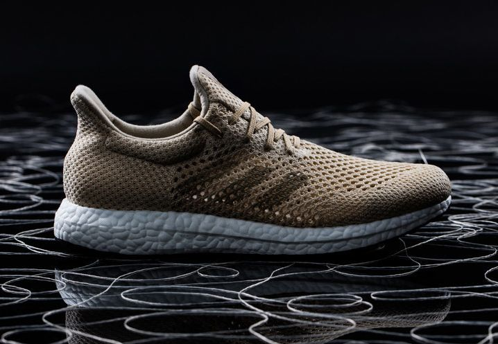 6db2cf6ab49d Adidas has unveiled a running shoe that features 100% biodegradable fabric.  The Futurecraft Biofabric