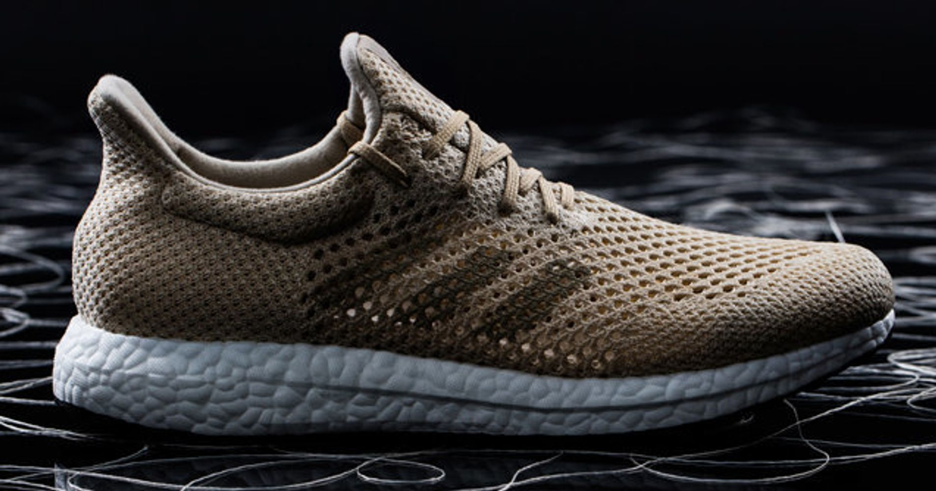 These New adidas Running Shoes Are Created From Light And Oxygen