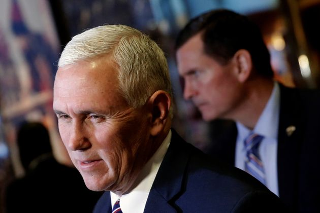 Mike Pence said he enjoyed his night atthe theater, thank you very