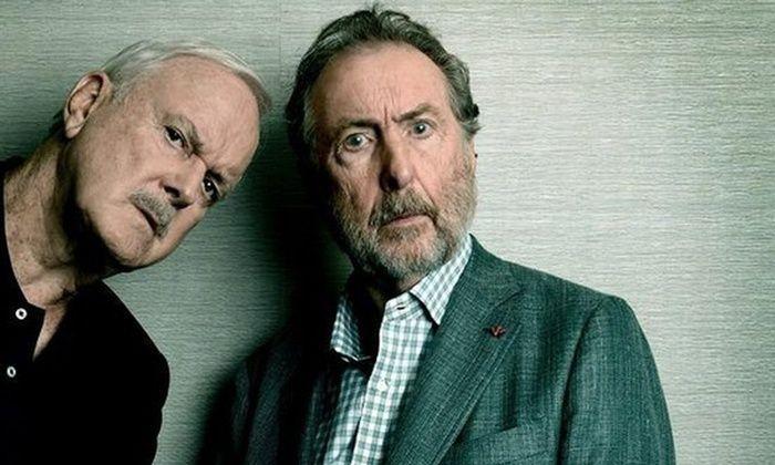 John Cleese and Eric Idle (photo: John Cleese and Eric Idle)