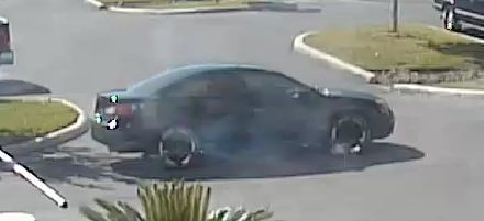 Police have identified this vehicle as the one driven by the suspect following the shooting.