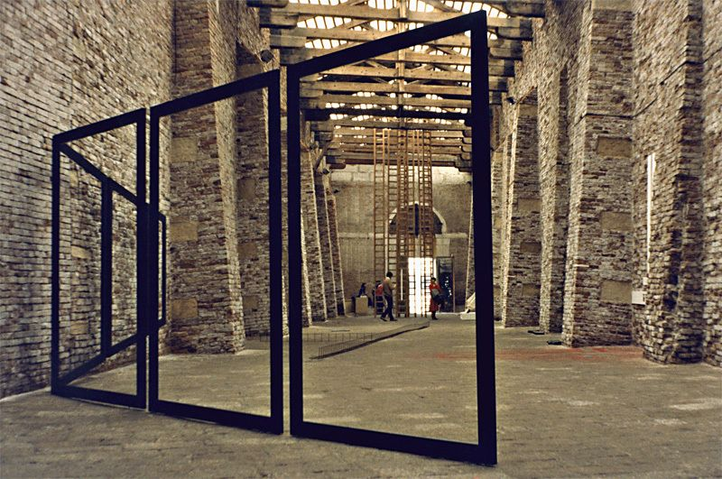 Composition in the Space, Venice Italy, 1978