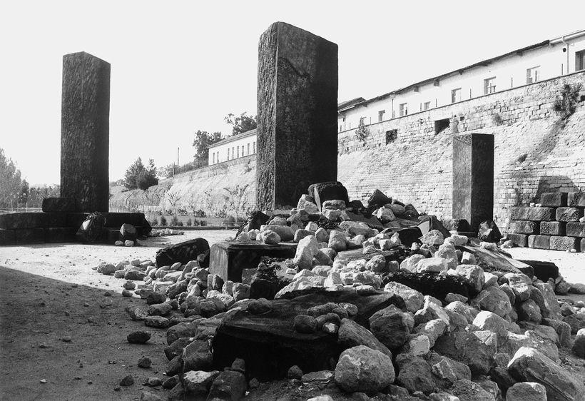 Installation, Nicosia Cyprus, 1983