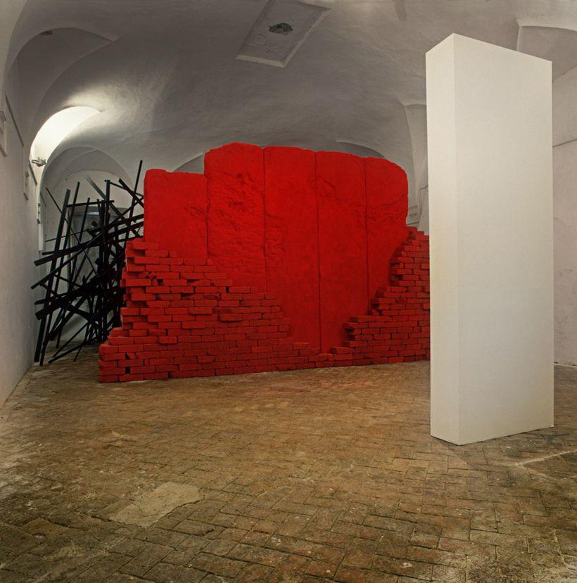 Installation, Genazzano Italy, 1987
