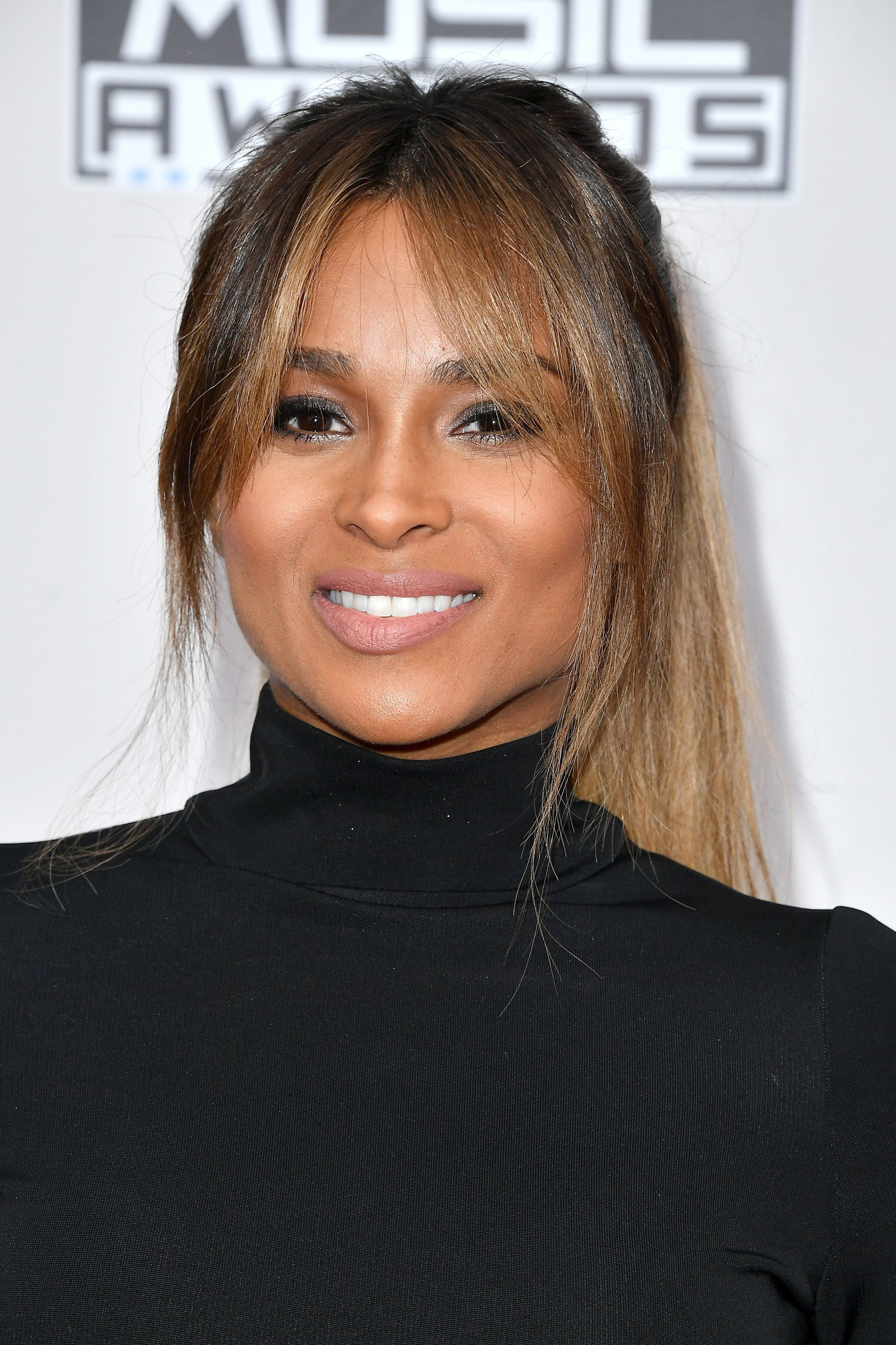 LOS ANGELES, CA - NOVEMBER 20:  Recording artist Ciara attends the 2016 American Music Awards at Microsoft Theater on November 20, 2016 in Los Angeles, California.  (Photo by Steve Granitz/WireImage)