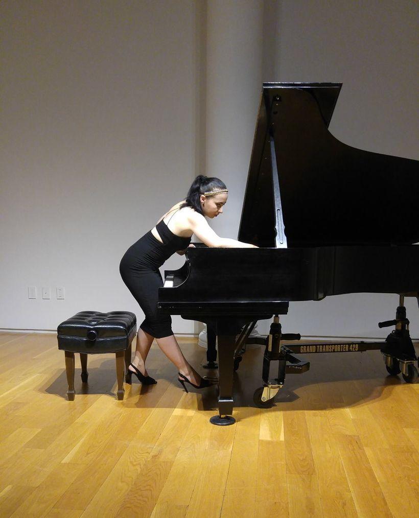 Tania Stavreva, pianist