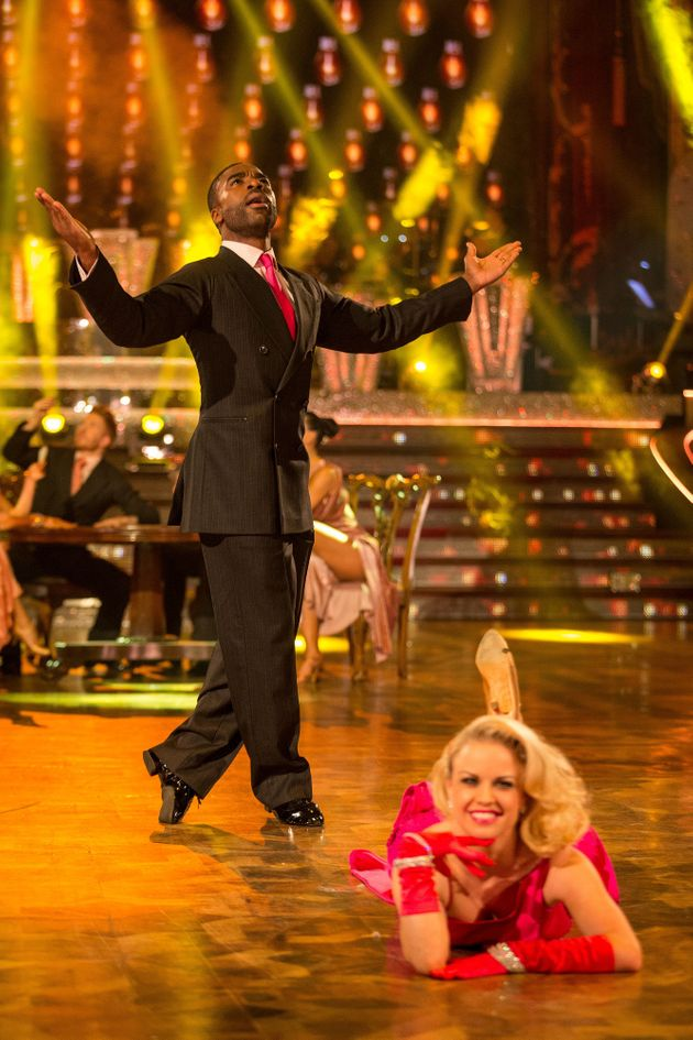 Ore is currently competing on 'Strictly Come