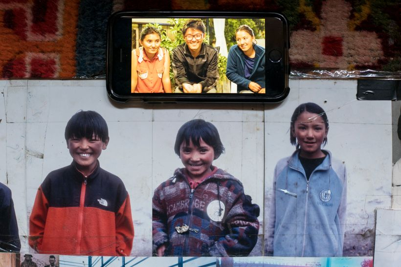 <em>3 of the Sherpa children that we supported. 11 years apart. 2005 and 2016. All photos taken byme.</em>