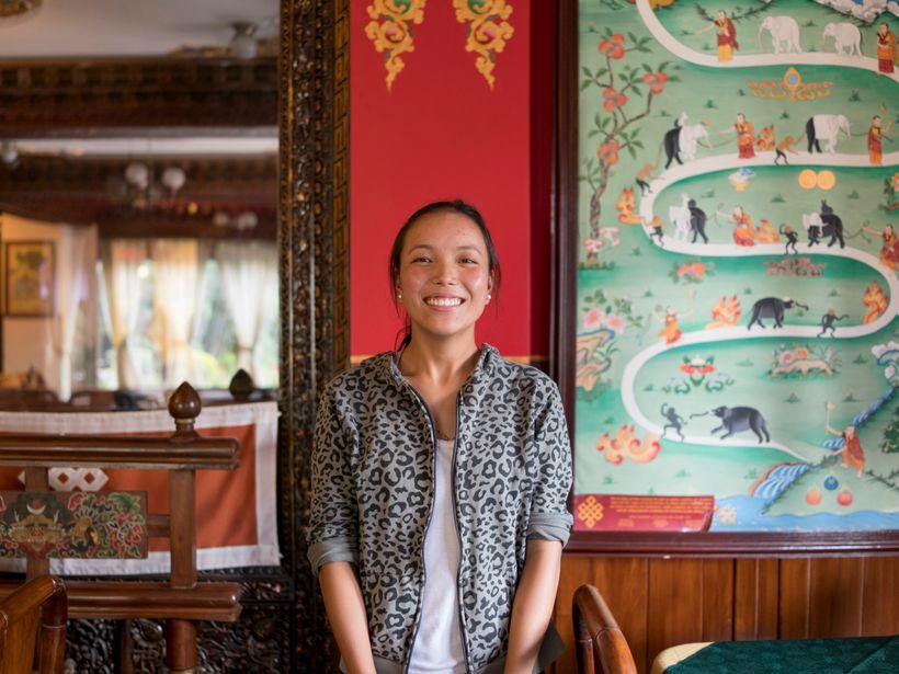 <em>Lhakpa, 20 </em>