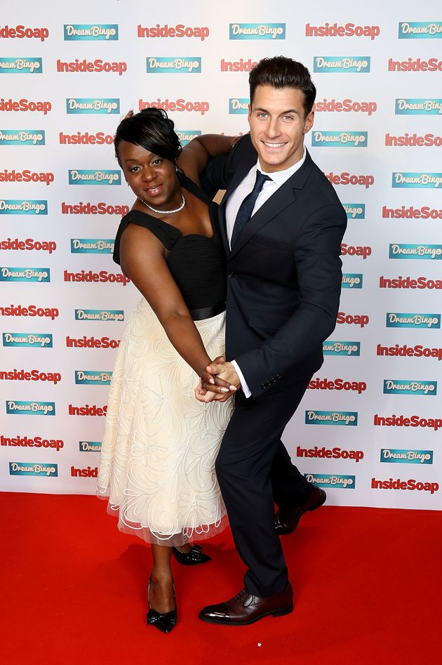 Gorka Marquez was paired with 'EastEnders' star Tameka Empson on this year's