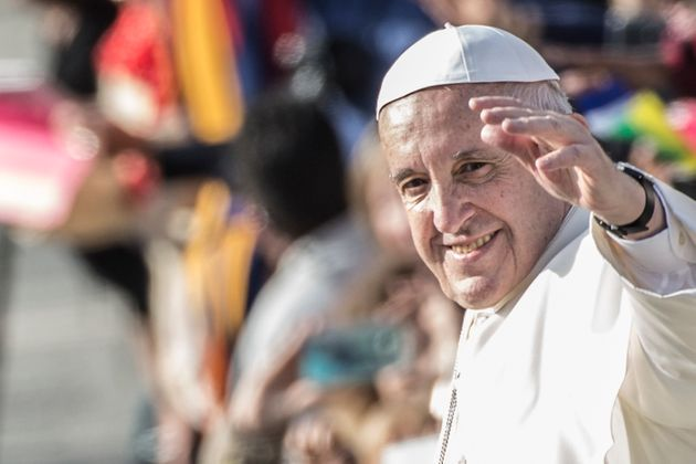 Pope Francis leads the closing mass of the Extraordinary Jubilee of Mercy, in St. Peter's Square at The...
