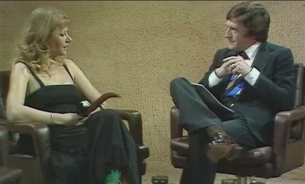 The tension between Helen Mirren and Michael Parkinson was