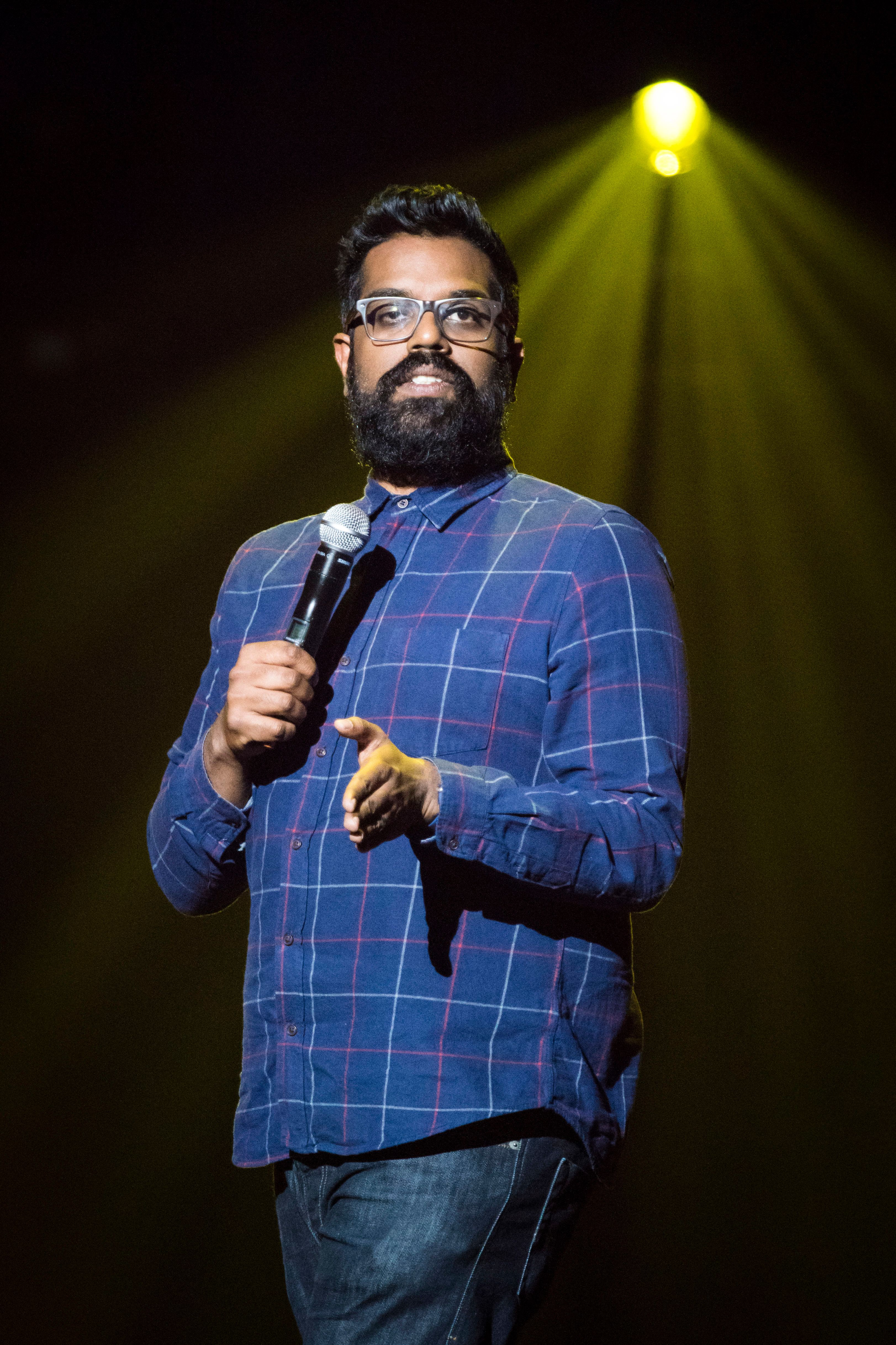 Romesh Ranganathan aspires to the honesty of Richard Pryor and Louis