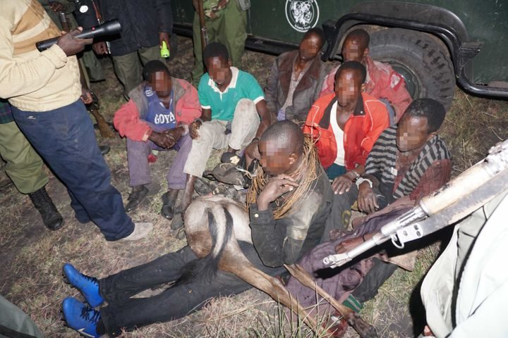 More than two dozen poachers have already been captured using the technology.