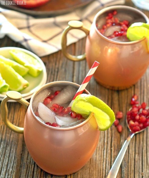 """<strong>Get the <a href=""""http://www.thecookierookie.com/pomegranate-moscow-mule/#sthash.gFiKx36n.dpuf"""" target=""""_blank"""">Pomegr"""
