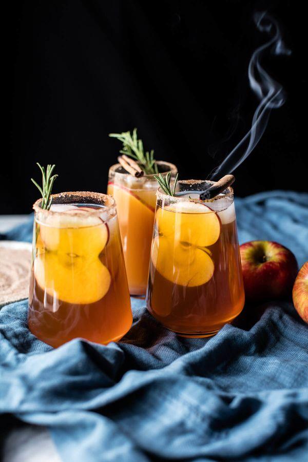 "<strong>Get the <a href=""http://www.halfbakedharvest.com/smoky-harvest-apple-cider-margaritas/"" target=""_blank"">Smoky Harvest"