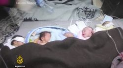 Premature Babies Pulled From Incubators As Aleppo's Only Children's Hospital Is
