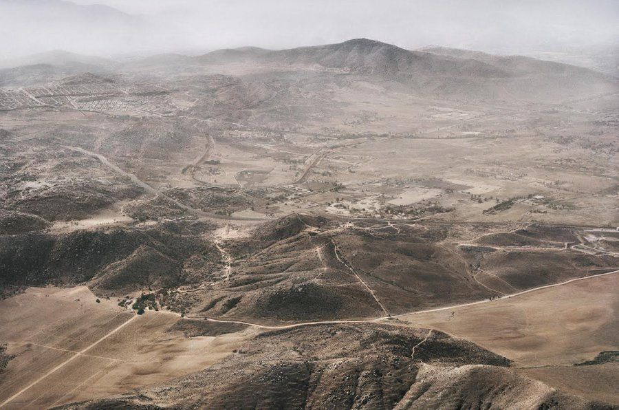 These Aerial Photos Of The USMexico Border Show Just How
