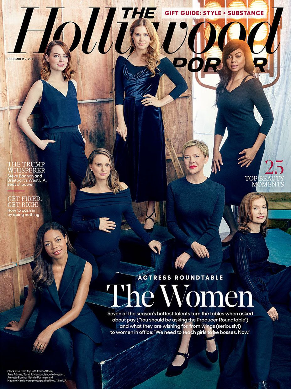 2016's Hollywood Reporter Actress Roundtable issue.