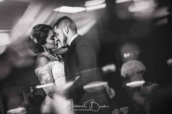"""""""Luis and Mercedes Villanueva's ceremony was at Our Lady of Guadalupe Church in Fort Worth, Texas. The reception was at The C"""