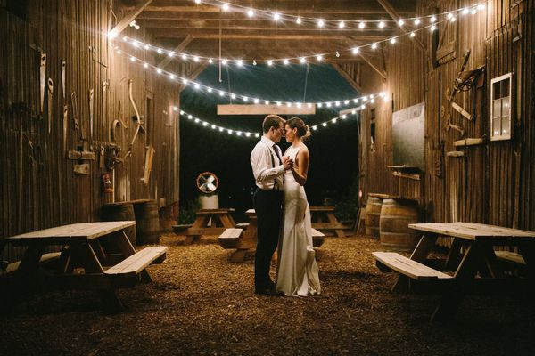 """""""Emily Adams and Alex Thompson married in Poolesville, Md.at Rocklands Farm."""" --<i>Emily Adams</i>"""