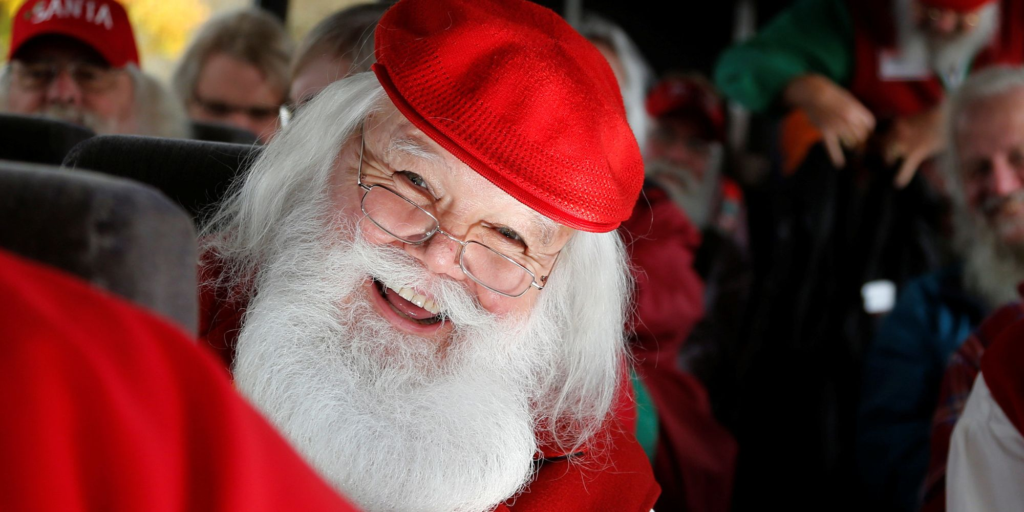 Santas Go Back To School To Learn Tricks Of The Christmas Trade