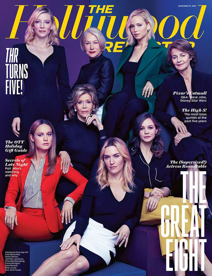 2015's Hollywood Reporter Actress Roundtable issue.
