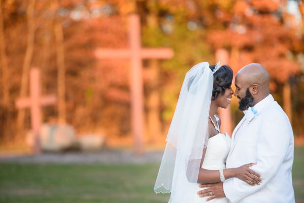 """""""Marlia and Manny were married on Sunday, one year after meeting. Their day was filled with so much love and support from fam"""