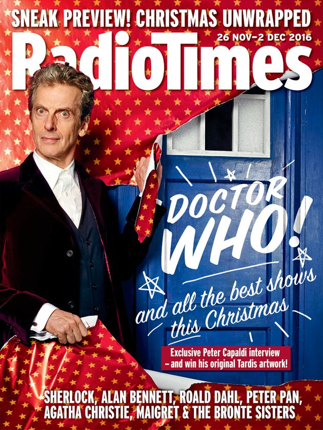 Peter Capaldi Thinks Doctor Who 'Isn't Human... And Reads The