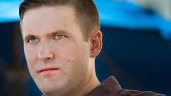 WASHINGTON, DC - NOVEMBER 19:  Richard Spencer is in town for the largest white nationalist and Alt Right conference of the year in Washington, DC on November 18, 2016.   Spencer, a 38-year-old Dallas native and graduate of St. Mark's School of Texas prep school, is a key intellectual leader of the alternative right, a label he coined in 2008 to describe the radical conservative movement defined by white nationalism and a fervent resistance to multiculturalism and globalism. Spencer currently resides in the resort town of Whitefish, Montana, in what was described as a 'Bavarian-style mansion' in a profile in Mother Jones. He was born in Massachusetts but moved to the Preston Hollow neighborhood of Dallas when he was about 2 years old. 'It was a fairly idyllic, suburban childhood,' Spencer said with a laugh. 'I remember riding bikes around the neighborhood, and so on. I guess you could say I lived in a bubble to a certain extent, like a lot of the kids in that area. But it was very nice.'   (Photo by Linda Davidson/The Washington Post via Getty Images)
