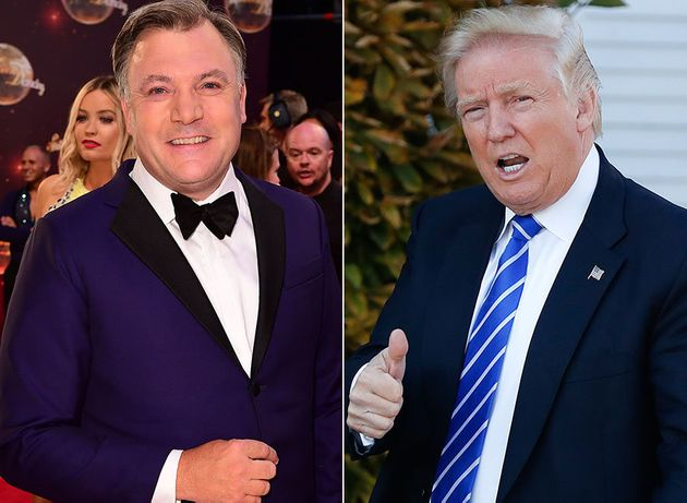 Ed Balls has urged US president-elect Donald Trump to watch 'Strictly Come