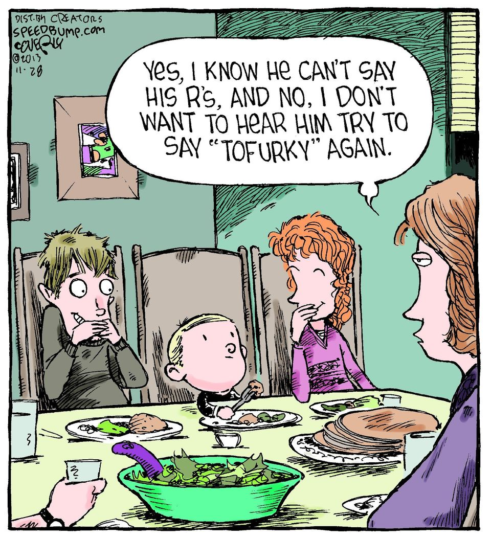 10 Hilarious Comics That Show What Thanksgiving Is Really Like For Parents Huffpost Life