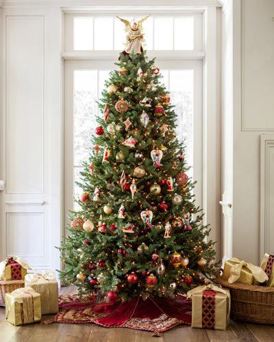 """BH Balsam Fir (5.5 - 9 feet), from $399at <a href=""""http://www.balsamhill.com/Balsam-Hill-Balsam-Fir-Christmas-Trees-p/b"""