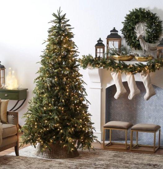 "Belham Living Classic Mixed Needle Pre-Lit Tree (7.5 feet), $199.98 at <a href=""http://www.hayneedle.com/product/75-ft-classi"