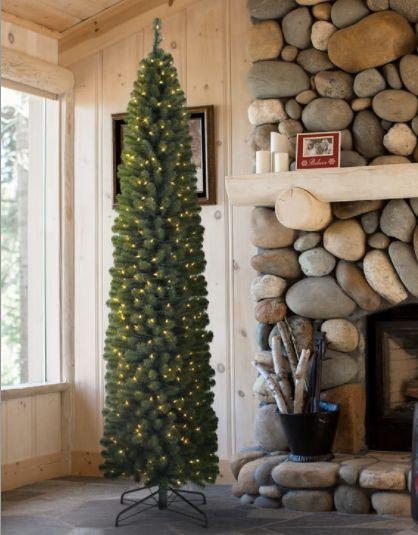 """Burberry Fir Tree (7.5 feet), $189.77 at <a href=""""http://www.treeclassics.com/Burberry-Fir-Christmas-Tree-p/buf-t.htm"""" target"""