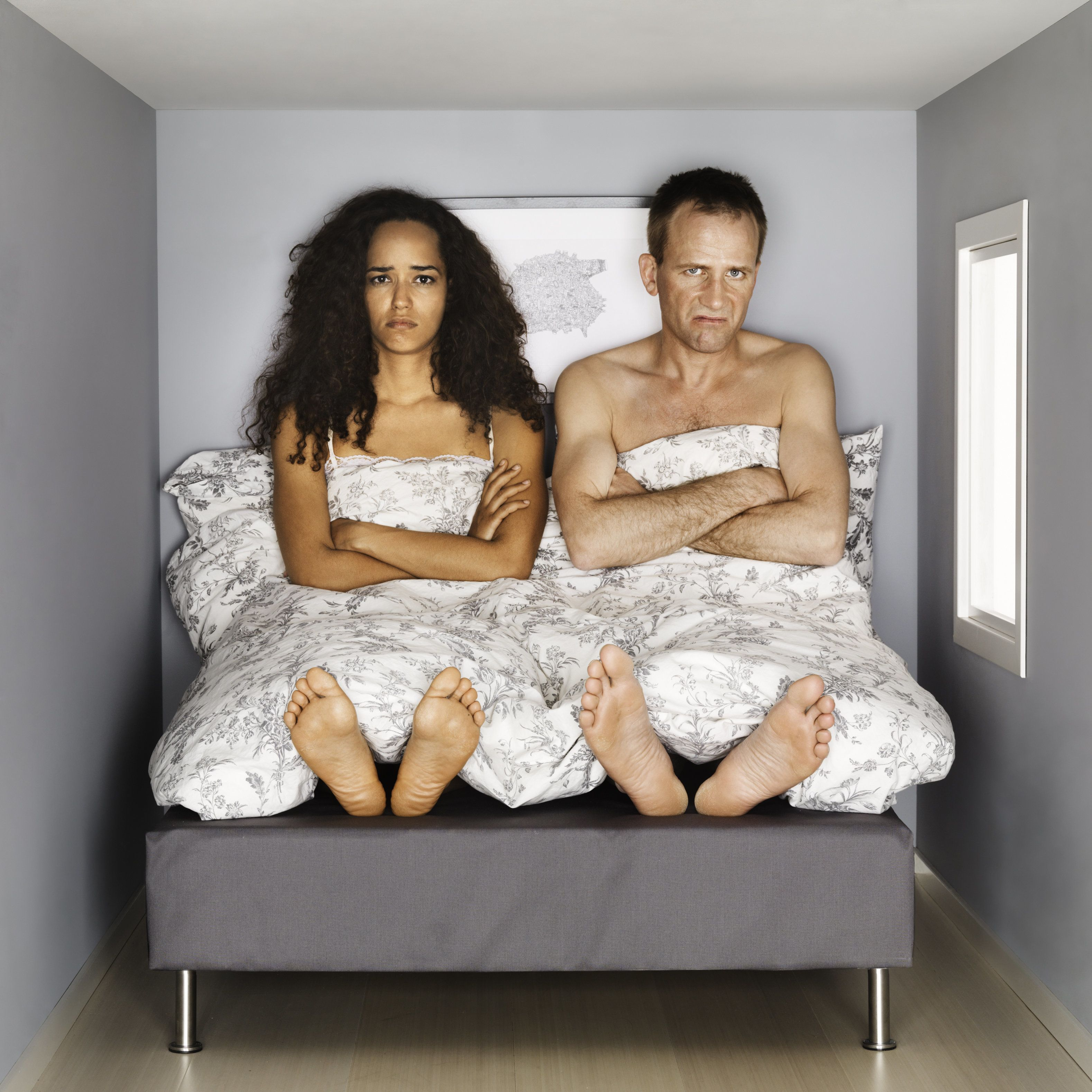 """I love my husband dearly as long as I get enough sleep. He snores and stays up later than I do...."