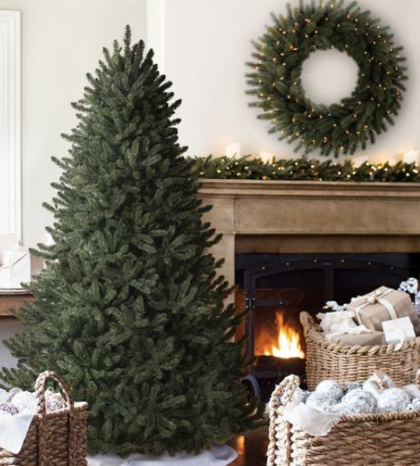 """Classic Blue Spruce (4.5 - 9 feet), from $149 at <a href=""""http://www.balsamhill.com/Balsam-Hill-Blue-Spruce-Christmas-Trees-p"""