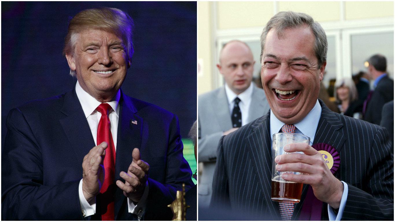 Donald Trump Says Nigel Farage Would Make 'Great' Ambassador To The