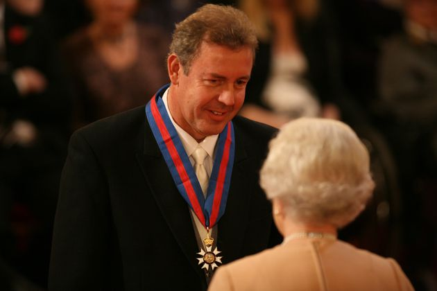 Sir Kim Darroch was madeKnight Commander of the Order of St Michael and St George by The Queen