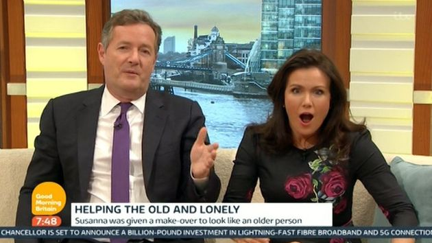 Piers Morgan had a typically Piers Morgan reaction to the