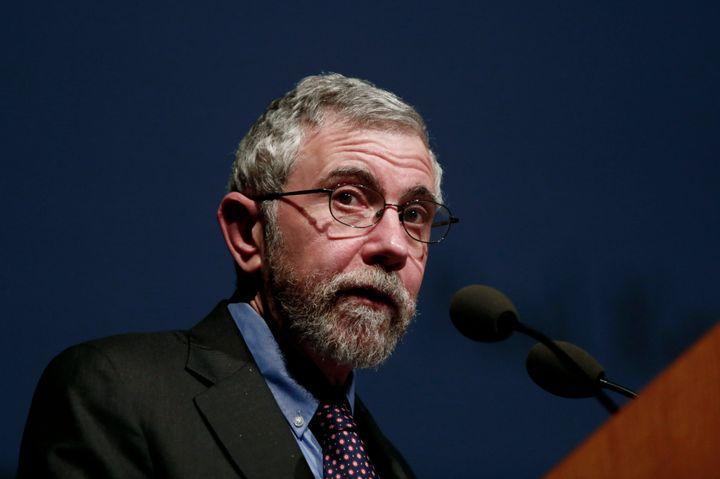 "Nobel Prize-winning economist Paul Krugman said the U.S. was entering an unprecedented ""era of corrupt governance."""