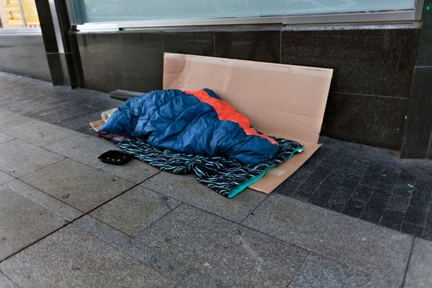 The number of people sleeping rough has continued to
