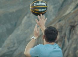 This 594-Foot-High Basketball Shot 'For Mankind' Is Out Of This World