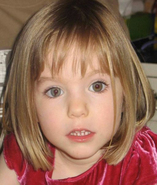 Madeleine McCann went missing in