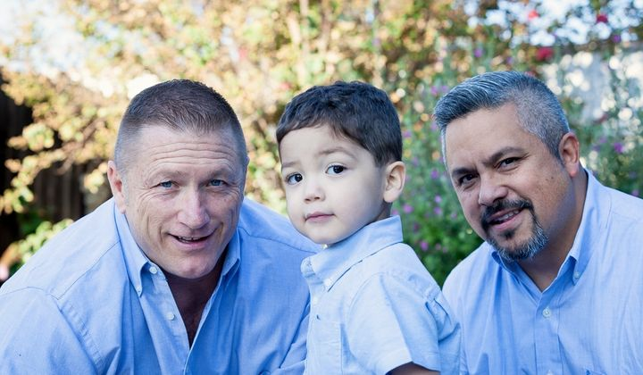Jason Winburn, Richard Avila and son