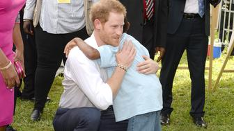 ST JOHNS, ANTIGUA - NOVEMBER 21:  Prince Harry attends a Charity showcase at Government House on the second day of an official visit to the Caribbean on November 21, 2016 in Antigua, Antigua and Barbuda. Prince Harry's visit to The Caribbean marks the 35th Anniversary of Independence in Antigua and Barbuda and the 50th Anniversary of Independence in Barbados and Guyana.  (Photo by Julian Hamilton - Pool/Getty Images)