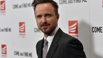 LOS ANGELES, CA - NOVEMBER 03:  Actor Aaron Paul attends the premiere of Saban Films' 'Come And Find Me' at Pacific Theatre at The Grove on November 3, 2016 in Los Angeles, California.  (Photo by Alberto E. Rodriguez/Getty Images)